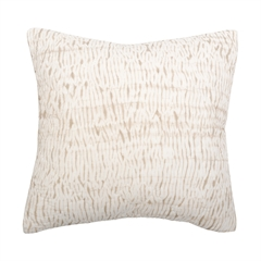 Clea Euro Sham,ELISABETH YORK,Hand Crafted,Luxury,Japanese Shibori,Hand Dyed,Animal Print,Luxury Bedding,Bedding,Euro Sham,Sham