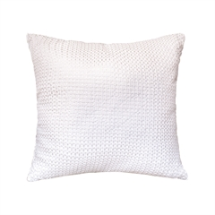Shimmer Pillow,ELISABETH YORK,Decorative Pillow,Luxury Pillow,Bedding,Waffle Weave,Elizabeth York