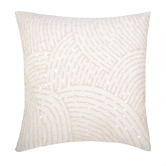 Pearl Arc Pillow,ELISABETH YORK,Decorative Pillow,Luxury
